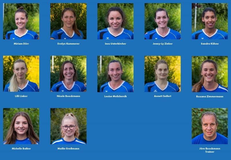 Mannschaftsfoto: Damen 1